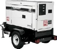 25kW Towable Generator, Diesel powered.