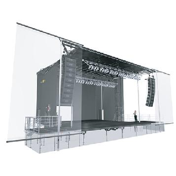 Banner design specifications for SL320 Mobile stage